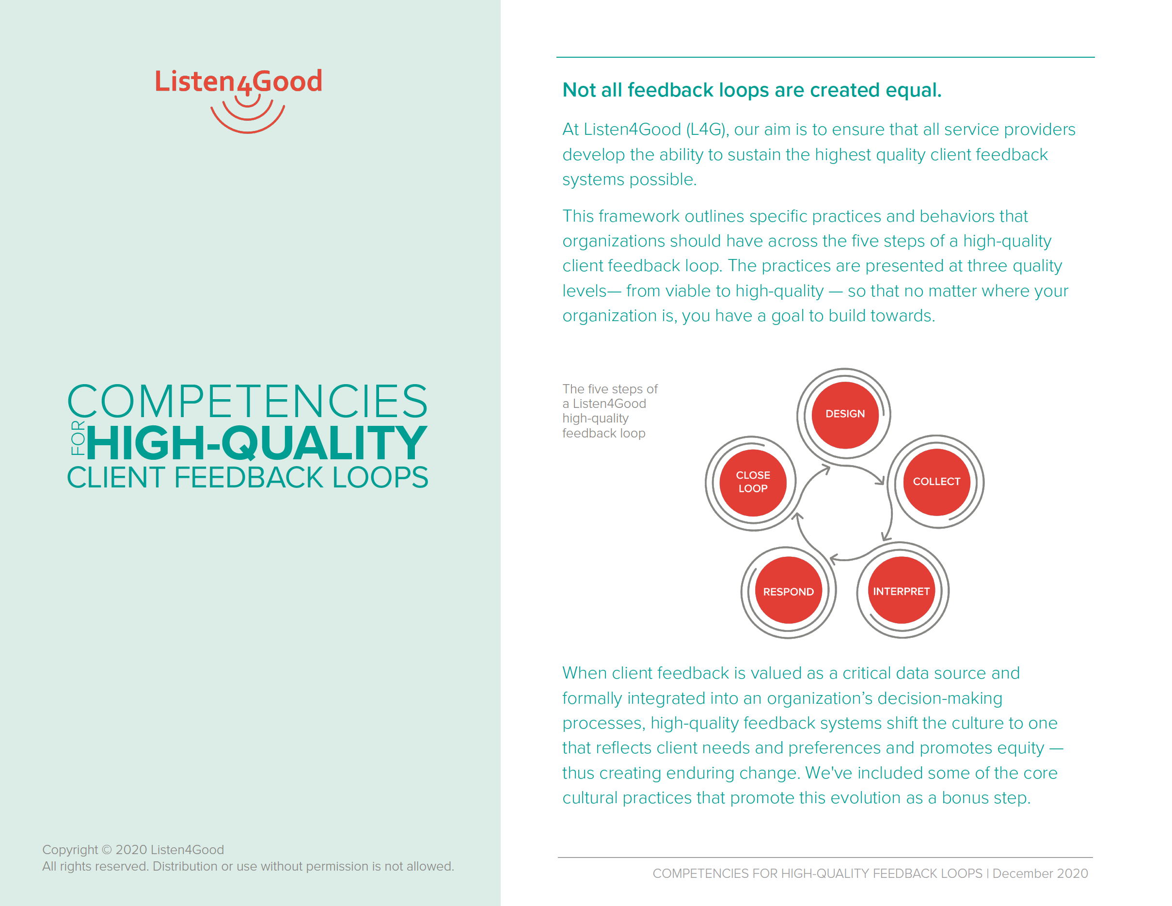listen4good competencies for high-quality client feedback loops hero image